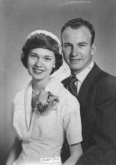Grandparents On Their Wedding Day