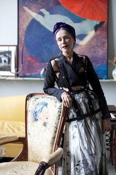 ADVANCED STYLE: Beatrix Ost's Magical World, 2013.  /  Each time I get  together with Beatrix Ost, I enter into a world full of art, color, and magic. Check out the video below to hear more from this incredible 73-year-old woman.