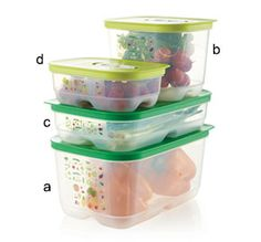 By far my favorite product!! Saves so much money, no more throwing out expensive produce!! Tupperware | FridgeSmart(r) Containers  http://jenn2385.my.tupperware.com/