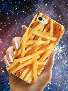 French fries Case Fashionable Design Phone case featuring wrap around. iPhone 7, iPhone   7 plus, iPhone 6, iPhone 6s, iPhone 6/6s plus, iPhone SE/5/5s, Design   pastel grunge
