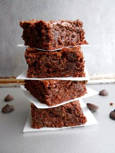 Culinary Couture: Dark Chocolate Brownies with dates, coconut oil, almond flour