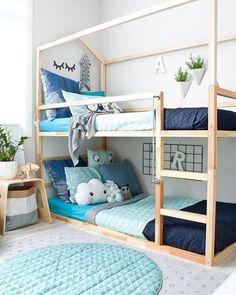 Dormitorios infantiles compartidos, ¡la familia crece! | Estilo Escandinavo