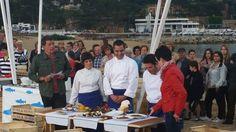 Tv presentatie van Peix Blau met mijn Chef in Sant Feliu de Guixols. Gepresenteerd door Carme Ruscalleda!