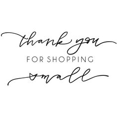 Shop Exclusive rubber stamp Thank you for shopping small modern... ($20) ❤ liked on Polyvore featuring home, home decor and office accessories
