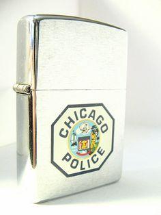 Chicago Police Zippo lighter
