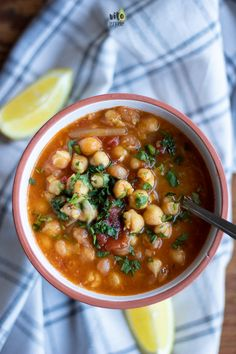 Soup Recipes, Dessert Recipes, Healthy Recipes, My Favorite Food, Favorite Recipes, Chana Masala, Food Porn, Food And Drink, Vegetarian