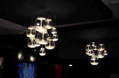 Euroluce 2015 Chandelier, Ceiling Lights, Lighting, Design, Home Decor, Homemade Home Decor, Candelabra, Ceiling Light Fixtures, Ceiling Lamp