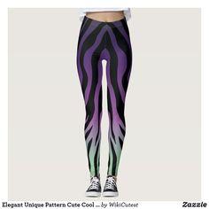 Elegant Unique Pattern Cute Cool Stylish Chic Leggings