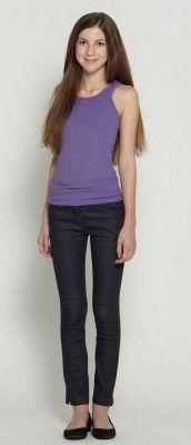 purple racer back tank  Tween fashion  www.isabellarosetaylor.com