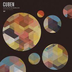 cuben print inside circles Simon Page