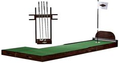 Putting Green. Hone your putting skills or find the perfect gift for the golf-lover in your life with our Putting Green. With up to 50 break combinations, you'll find hours of entertainment – indoors or out. Barn Pool, Cloud Craft, Golf Gifts For Men, Home Additions, Pottery Barn, Living Room Furniture, Hardwood, Indoor, Green