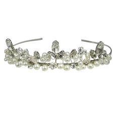 Halo and Co Cava Tiara - Bridal Jewellery - Crystal Bridal Accessories