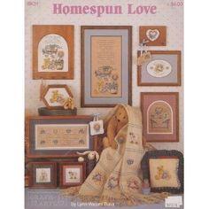 Homespun Love Cross-Stitch Patterns BK31$14.98