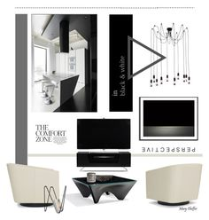 """""""perspective"""" by mcheffer ❤ liked on Polyvore featuring interior, interiors, interior design, home, home decor, interior decorating, Alphason, Mitchell Gold + Bob Williams, Yves Saint Laurent and Dot & Bo"""