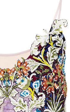 84fa2ba83d46dd Swan Village Fully Embroidered Dress