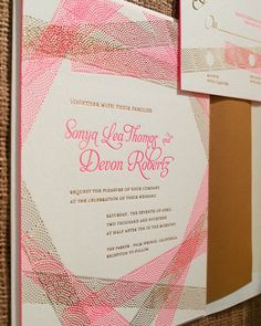 smock weddings | wedding invitation by Smock