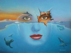 alaskan dreamscape by Jim Warren