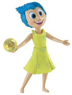 """Fun Gifts! Lic Collectable Disney's Pixar Inside Out 9"""" Talking Joy Joie"""