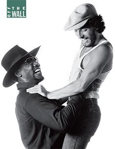 Backstreets.com: New issue contents  Clarence and Scooter Born to Run