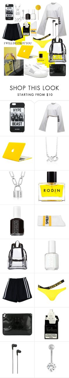 """""""Untitled #179"""" by renad306000 ❤ liked on Polyvore featuring LES (ART)ISTS, Puma, Blue Nile, Rodin, Essie, Joshua's, Arizona, Calvin Klein, Kenzo and B&O Play"""