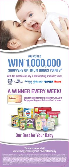 Nestle Baby SDM Optimum Points Contest
