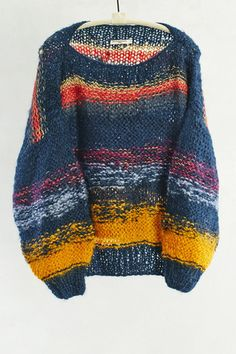 Dark Rainbow Shy Pullover by Mes Demoiselles | shopheist.com