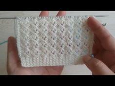 Baby Sweater Knitting Pattern, Knit Vest Pattern, Baby Knitting Patterns, Knitting Designs, Crochet Designs, Stitch Patterns, Knitting Help, Knitting Stiches, Knitting Videos