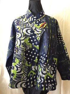 Coats & Jackets Diane Prekup Indigo Lime Karma Jacket