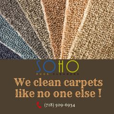 SoHo Rug Cleaning provides exclusive Carpet Cleaning NYC services, along with Upholstery & Rug Cleaning services using latest technology in New York City. Rug Cleaning Services, Carpet Cover, Social Link, Best Carpet, Floor Covering, How To Clean Carpet, Home Look, Soho, Carpets
