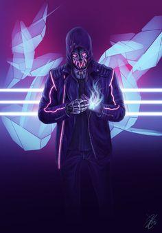Cyber Corvo by c0nNy