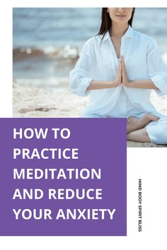 Science is showing that meditation is very deserving of its newfound fame. If you're looking for easy tips on how to meditate for beginners, and how it can reduce your anxiety, well you've stumbled upon the right place! Meditation will help us to understand our own mind. We can learn how to rewire our thoughts from negative to positive, from disturbed to peaceful, from unhappy to happy. Are you ready to learn how to meditate? These 9 tips make starting to meditate easy.