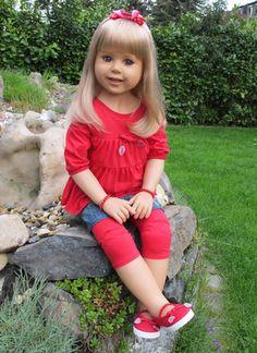 Masterpiece Dolls Millie By Monika Peter-Leicht Blonde Collectible Doll