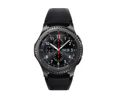 Samsung Gear Frontier Smartwatch WIFI Bluetooth Best Sale Price here Sport Watches, Cool Watches, Watches For Men, Men's Watches, Stylish Watches, Watches Online, Jewelry Watches, Wi Fi, Operating System
