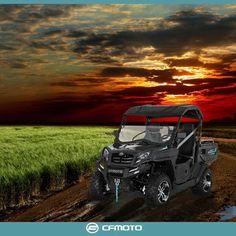 Arazinin ve zorlukların keyfini çıkaranlara; U Force 550 www.cfmoto.com.tr