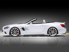 Avalange GT-R package for Mercedes-Benz SL Facelift Mercedes Car Models, Mercedes Sl55 Amg, Mercedes Benz Sports Car, Custom Mercedes, Merc Benz, Classic Mercedes, Luxury Cars, Dream Cars, Side Profile
