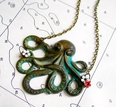 Octopus Necklace. Love the look of this. Purchased   BOUGHT