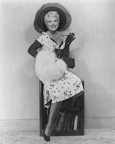 jean louis costume designs   Judy Holliday-Jane Russell-Celebrity Birthdays-June 21st   Vintage ...