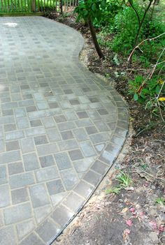 How to install a cobblestone paver patio.  Takes 30 hours or less and saves thousands.