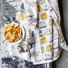 Seven seas tea towels