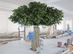 Source Y07 Large natual artificial banyan tree , indoor and outdoor decorative live ficus tree on m.alibaba.com
