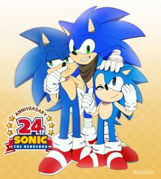 by Miiukka on DeviantArt Sonic The Hedgehog, Silver The Hedgehog, Sonic And Amy, Sonic And Shadow, Sonic 25th Anniversary, Play Sonic, Sonic Generations, Sonic Underground, Sonic Unleashed