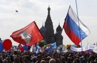 Russia stages first Red Square May Day parade since Soviet days - REUTERS CANADA #Russia, #MayDayParade