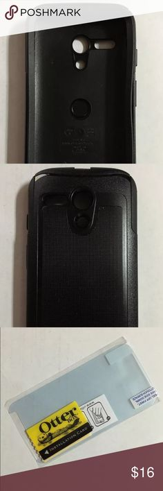 OtterBox Moto G 1st Gen Commuter Series Case Case has never been used. Includes adhesive screen protector and installation card. Fits only first generation Moto G. OtterBox Accessories Phone Cases