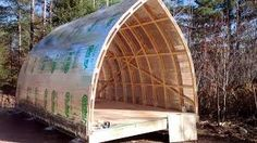 More ideas below: Modern quonset hut homes Living Rooms Spaces Construction Projects Corrugated Metal quonset hut homes interior Workshop Arches quonset hut ho Hut House, Dome House, Tiny House Cabin, Tiny House Design, Arch Building, Building A House, Roof Cladding, Cladding Ideas, Quonset Hut Homes