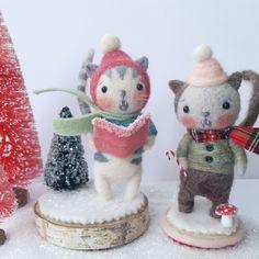 Jenn Docherty | Needle Felted Bears and Friends