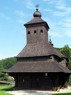 Wooden church is located in Poloniny National Park. The church stands as a symbol of human development in the mist of all of the beautiful landscapes. Beautiful Landscapes, Mists, Temple, National Parks, Germany, Catholic Churches, Seen, Europe, Human Development