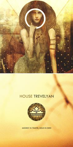 The Trevelyans are a noble family from Ostwick in the Free Marches. #dai