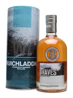 Bruichladdich Waves : Buy Online - The Whisky Exchange - This is the repackaged edition of Bruichladdich Waves, which has now dropped its age statement (and the peating level slightly too, we're told). In this case, the finishing casks are Madeira.