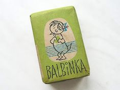 Vintage Soap Packages from Poland