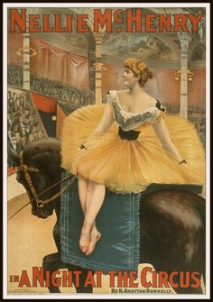 Vintage Reproduction Circus Poster Art Print